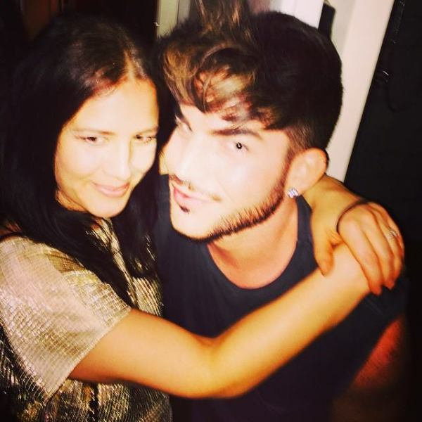 estellerubiomusic: So nice to meet u last night @adamlambert well done for all the rave reviews today!