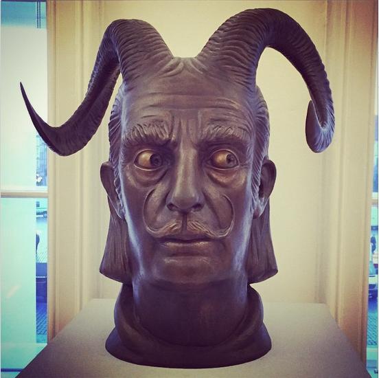 adamlambert: Bronze Dali sculpture - Prague