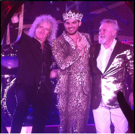 @sedevine_  Feb 27: End moment. @QueenWillRock @adamlambert amaaaaaazing show!!!