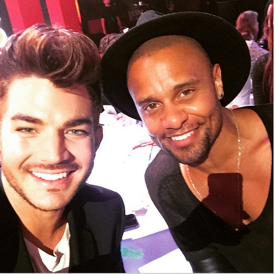 adamlambert W @terrancespencer at the #iheartMusicAwards