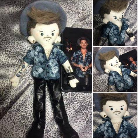 @kardamdoll: @adamlambert I made this Adam Doll! pic.twitter.com/il28F7tWJg