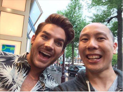 @UncannyAlex1978: @adamlambert thanx for your time! Hope u enjoy Amsterdam despite the rain. Rock it tonite! @RTLLateNight ‪#‎GhostTown‬