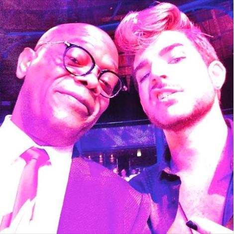 @SamuelLJackson ~ Adam Lambert killed it opening the show @One4TheBoys LCM Fashion Ball last nite! https://instagram.com/p/34K2tKj0XM/