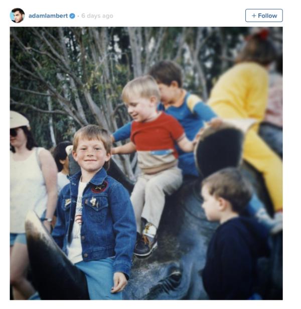 Adam Lambert: Rhino Realness- not much has changed. Lol