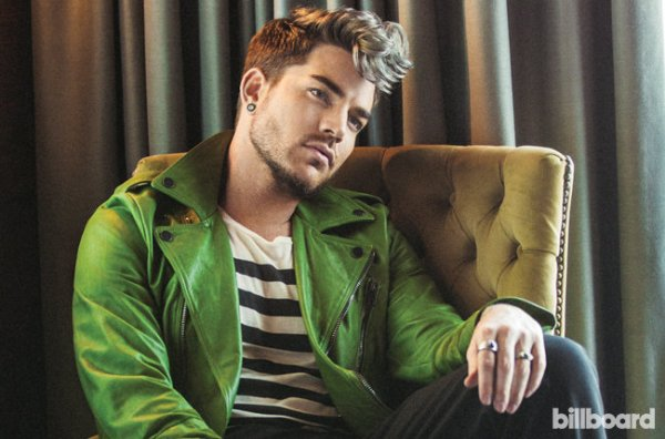 Adam Lambert photographed by Ramona Rosales on July 22, 2015 at the Palihotel in Los Angeles. Ramona Rosales