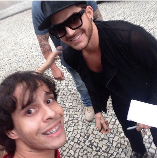 marcelorodrigo6: #copacabanapalace #queen #adamlambert depois de muita espera finalmente consegui.