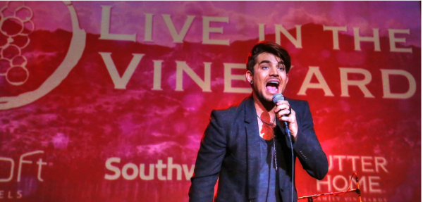 WB Photography ADAM LAMBERT Live in the Vineyard 16. Photo Will Bucquoy. Live In The Vineyard. — at Uptown Theater.