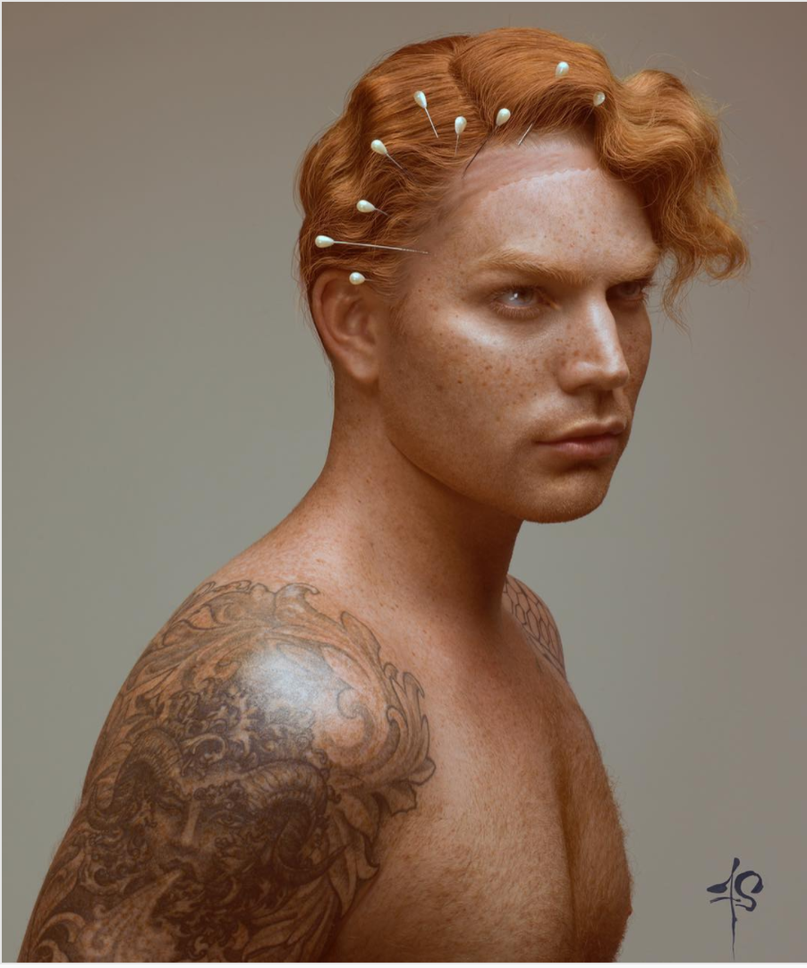 Lambert adam red hair