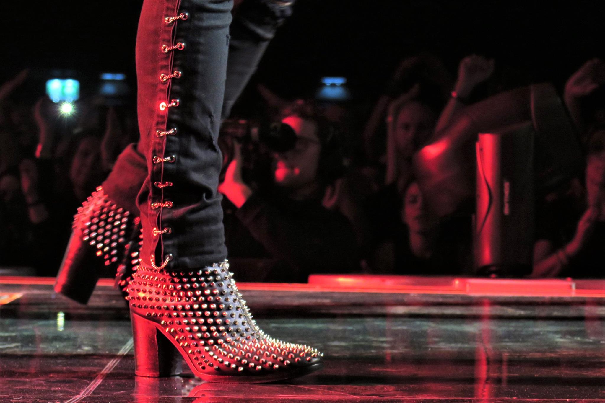 Adam Lambert Help on | Men in heels, Fashion boots, Fashion
