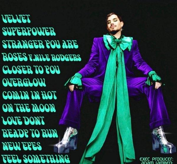Velvet album song list